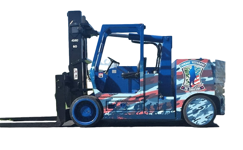Combat Veterans to Careers Versa-Lift Forklift